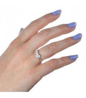Zirconia ring for gift