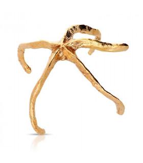 Starfish bracelet in gold