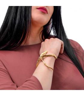 Golden starfish bracelets