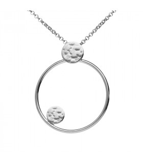 Circles necklace from the Orbital collection