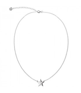 colgante estrella plata