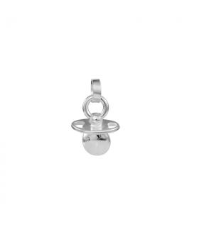 Silver pendant pacifier