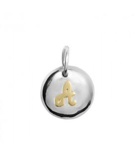 Silver pendant drop