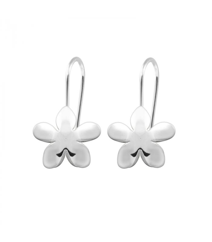 Cheap Silver Jasmine Earrings