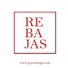 !!REBAJAS!! No te la pierdas!!. Descúbrelas en nuestras tiendas o en la web✨ www.joyeriahago.com