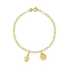Regalos especiales para Súper Mamá😍 Pulsera de oro personalizada ❤️ www.joyeriahago.com
