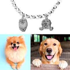 Pulsera mascota personalizada.😍 ¿Nos os parece un regalo ideal? www.joyeriahago.con . #pulseramascota #pulsera #mascotas #perros #animales #pulseraperro