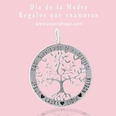 Colgante Árbol de la Vida❤️ El regalo ideal para tu mami, un regalo personalizado único. Haz tu pedido ahora y recíbelo antes del viernes!!🎊 www.joyeriahago.com . #arboldelavida #colgantes #regalosoriginales #diadelamadre