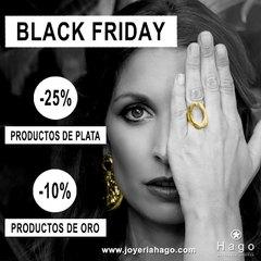🖤BLACK FRIDAY EN HAGO🖤 -25% en productos de PLATA🎊 -10% en productos de ORO🎉 www.joyeriahago.com . #blackfriday #semanablackfriday #rebajas #descuentos #ofertasblackfriday