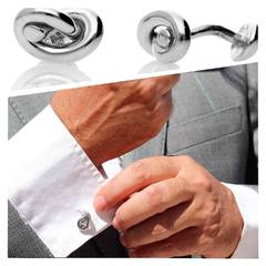 Detalles que marcan la diferencia Gemelos Nudos Vesta www.joyeriahago.com . #gemelos #gemeloshombre