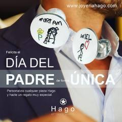 Se acerca el día de padre y que mejor manera para felicitarle que con una joya única y personalizada😍 www.joyeriahago.com . #diadelpadre #joyaspersonalizadas #papa #regalo