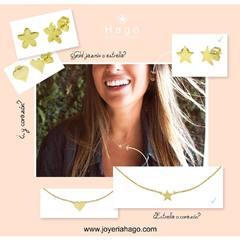 ¿Conocéis nuestra colecciones Gold?. En oro de primera ley. Ahora con 10% de descuento 🖤🎉 www.joyeriahago.com