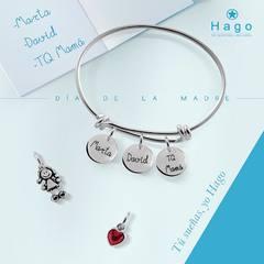 ¿Todavía no sabes qué regalar para el día de la madre?. Visítanos y sorpréndete con la selección que os hemos preparado.😍 www.joyeriahago.com  . #diadelamadre #regalo #mama #mami