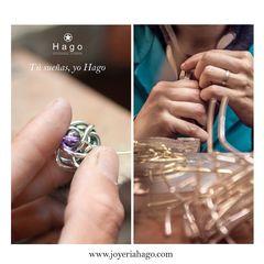 Joyeros Artesanos con fabricación propia❤️. Vamos a por el miércoles 💪🏾 www.joyeriahago.com